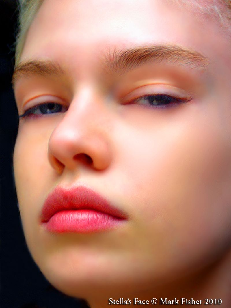 Stella's Face © Mark Fisher NYC1