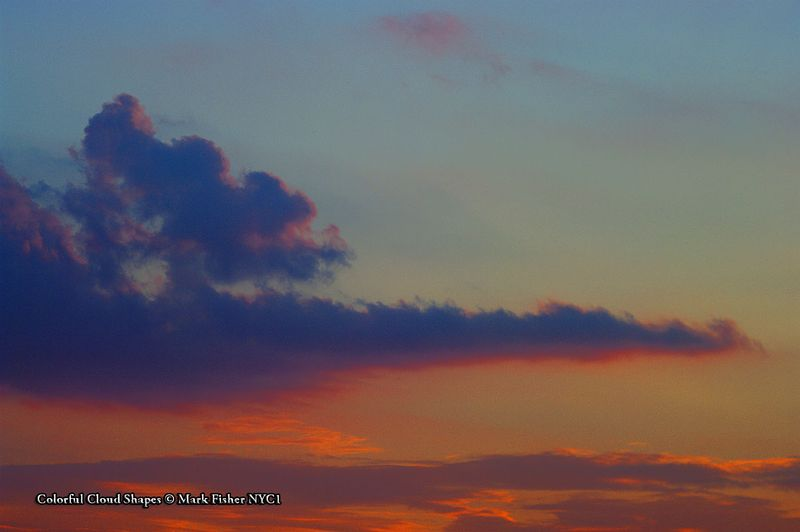 Colorful Cloud Shapes © Mark Fisher NYC1-9785-Recovered
